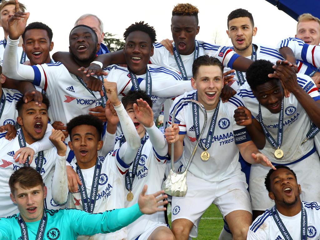 Chelseas U19 feiert den Titel