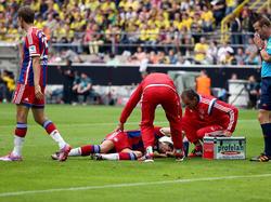 Javi Martínez verletzte sich im Supercup-Spiel schwer