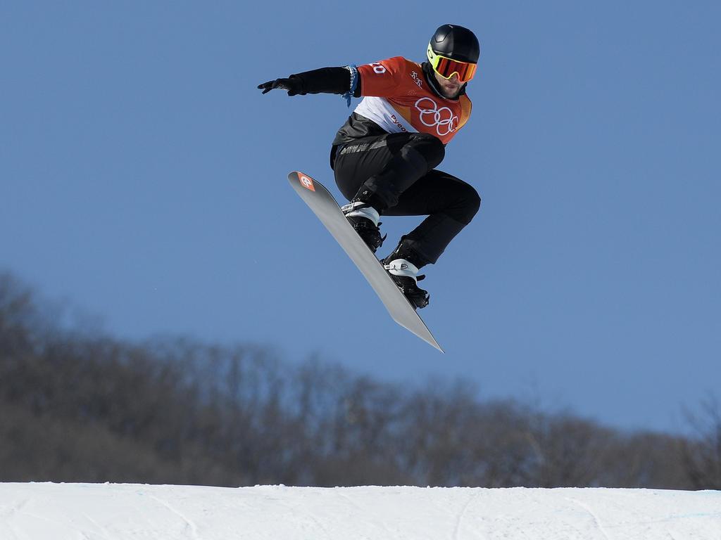Schad stand in Südkorea selbst auf dem Snowboard