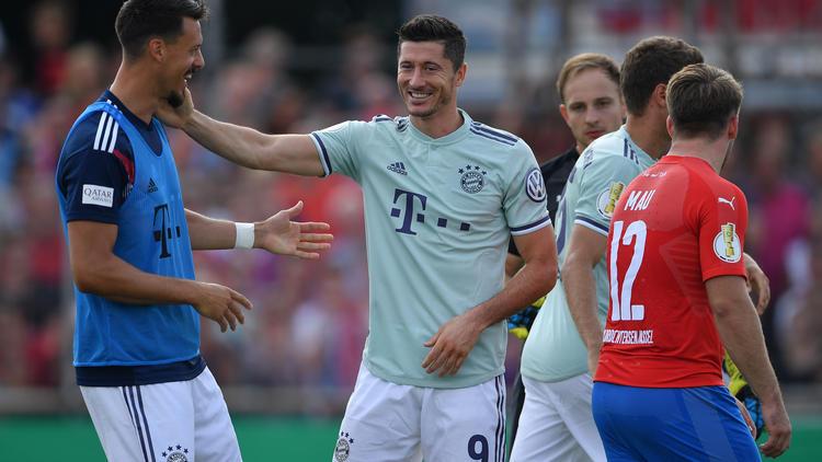 FC Bayern München gewinnt dank Lewandowski beim SV Drochtersen/Assel