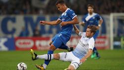 Der 1. FC Magdeburg und Arminia Bielefeld teilen sich die Punkte