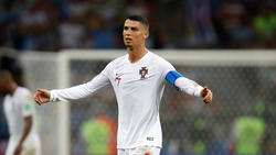 Cristiano Ronaldo trug zuletzt bei der WM 2018 das Nationaltrikot
