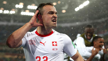 Xherdan Shaqiri und die Schweiz besiegten Belgien nach einem furiosen Comeback
