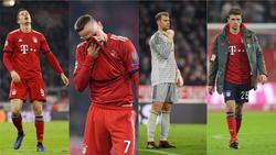 Vier Profis des FC Bayern München mussten zum Rapport