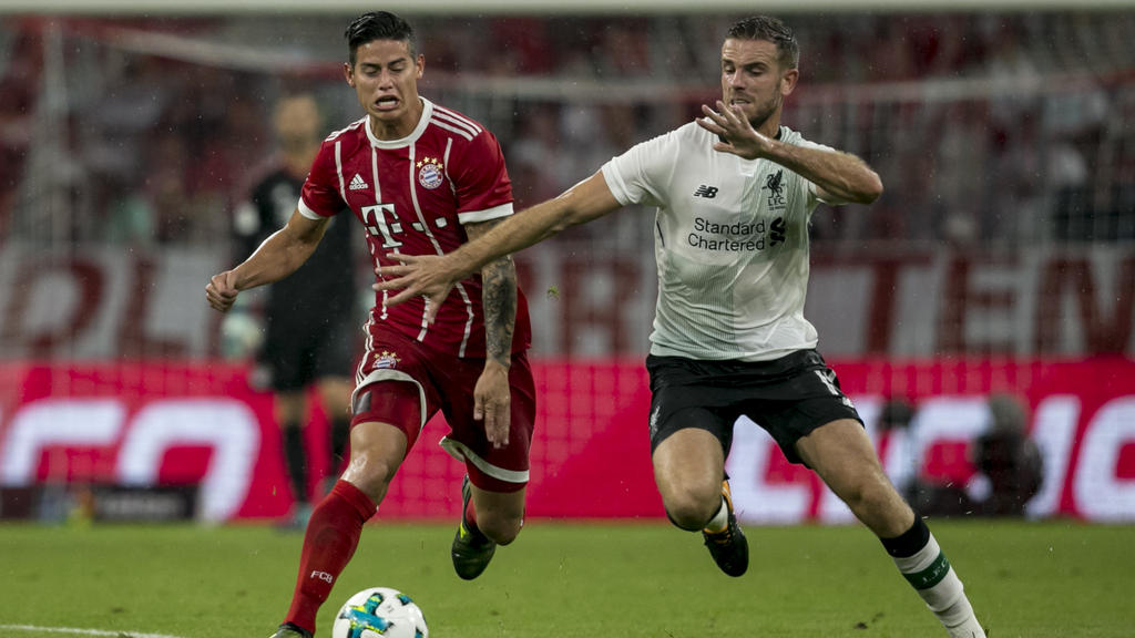 Bayern und Liverpool trafen sich zuletzt in der Vorbereitung 2017