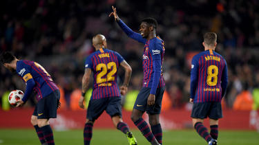 Ousmane Dembélé erzielte zwei Treffer