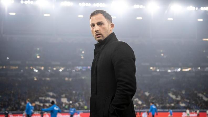 Domenico Tedesco will beim FC Schalke nicht aufgeben