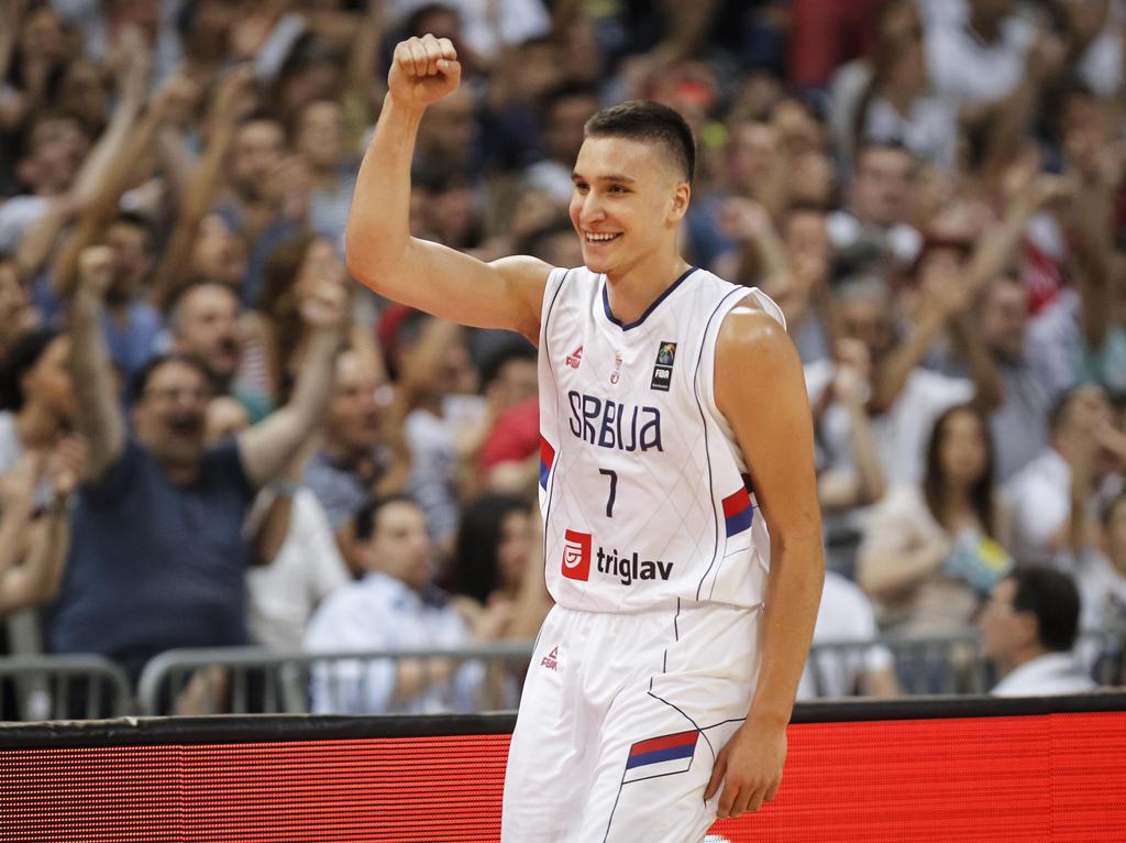 Bogdan Bogdanović steht mit Serbien im Halbfinale
