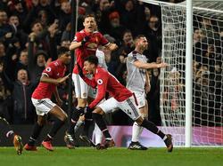 Jesse Lingard salvó los muebles para el equipo de Mourinho. (Foto: Getty)