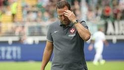 Sascha Hildmann steht beim 1. FC Kaiserslautern vor dem Aus