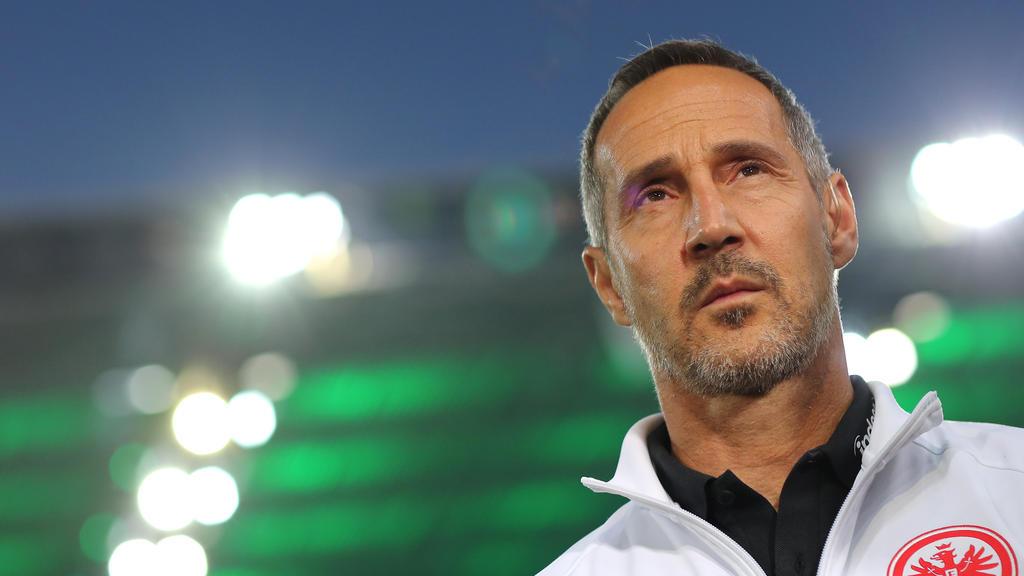 Adi Hütter will gegen den FC Bayern mutig spielen