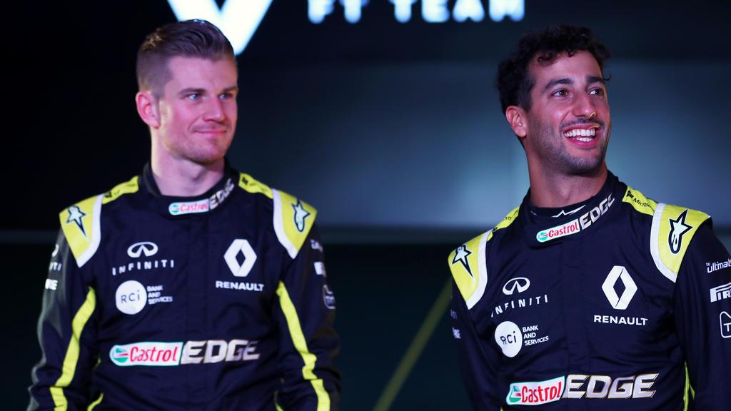 Nico Hülkenberg und Daniel Ricciardo hatten auch abseits der Strecke Spaß