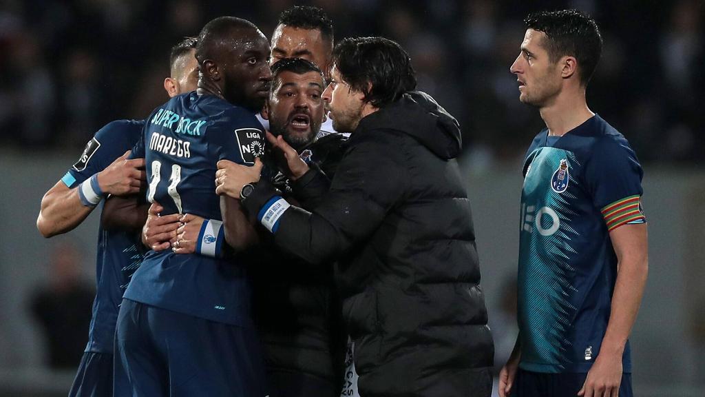 Moussa Marega verließ den Platz