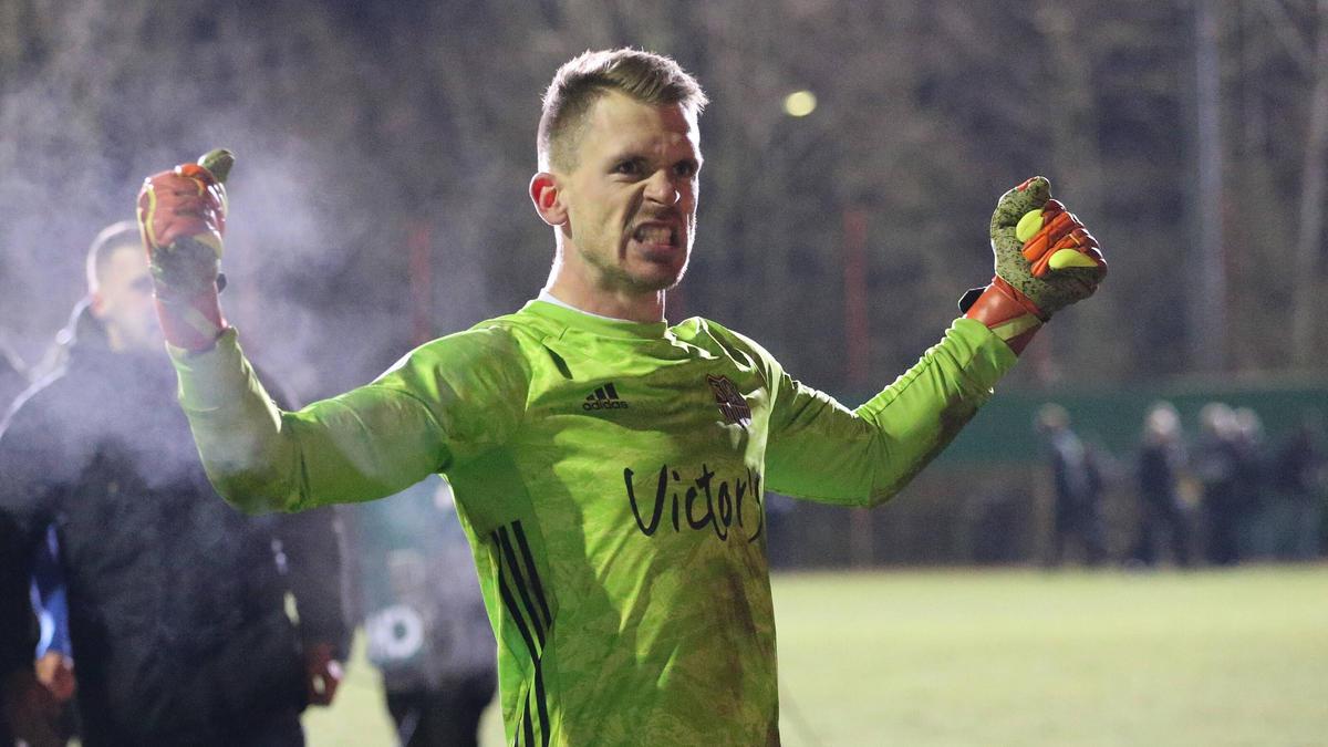 Daniel Batz war der Held des Abends beim 1. FC Saarbrücken