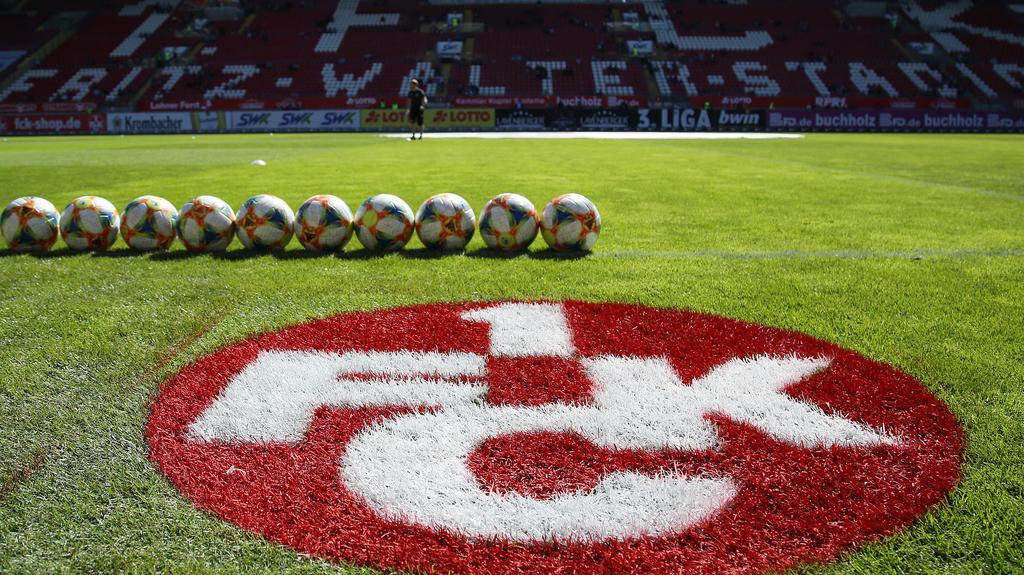 Beim 1. FC Kaiserslautern gibt es drei Corona-Verdachtsfälle