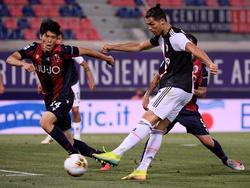 Ronaldo anotó el primer tanto de los visitantes.