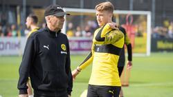 Lucien Favre geht ins dritte BVB-Jahr