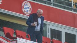 War wohl zunächst gegen die Verpflichtung seines Neffen Sebastian: Bayern Münchens langjähriger Präsident Uli Hoeneß