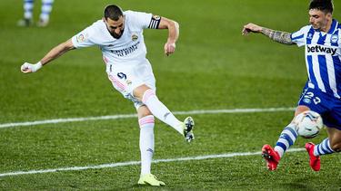 Benzema vuelve tras lesión a la punta de ataque blanca.