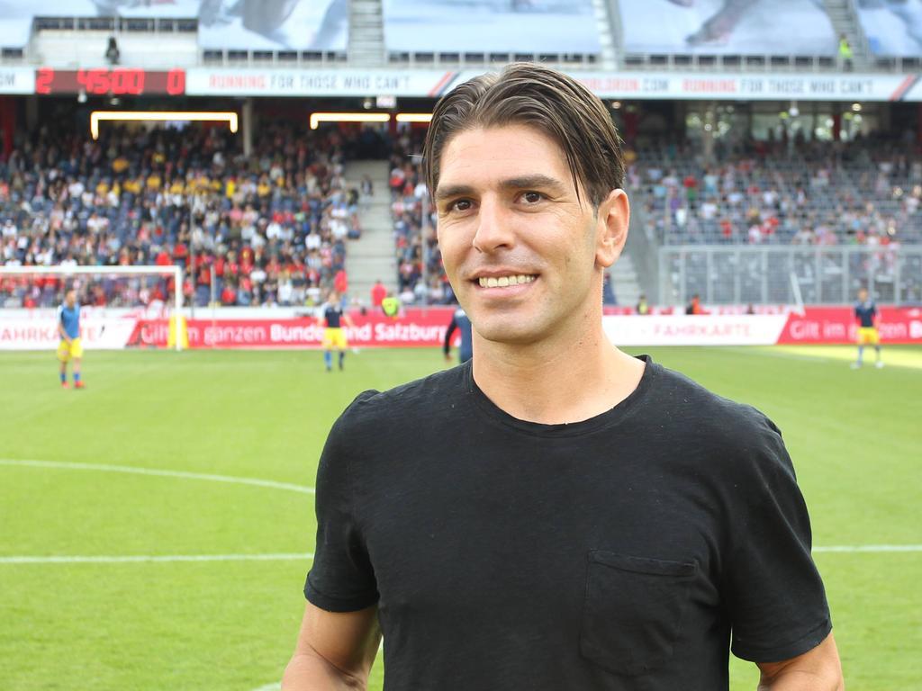Soriano bei einem Besuch in Salzburg im Mai 2019