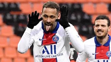 Neymar geht weiter für PSG auf Torejagd
