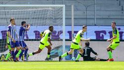 Der SC Paderborn schenkte Erzgebirge Aue acht Tore ein
