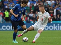 Italien gegen Spanien