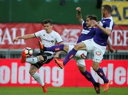 Austria Wien gegen Rosenborg Trondheim