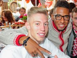 Alte Bekannte: Jérôme Boateng und Mitchell Weiser spielten gemeinsam bei Bayern