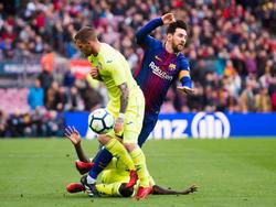 Lionel Messi konnte sich mit dem FC Barcelona nicht gegen Getafe durchsetzen