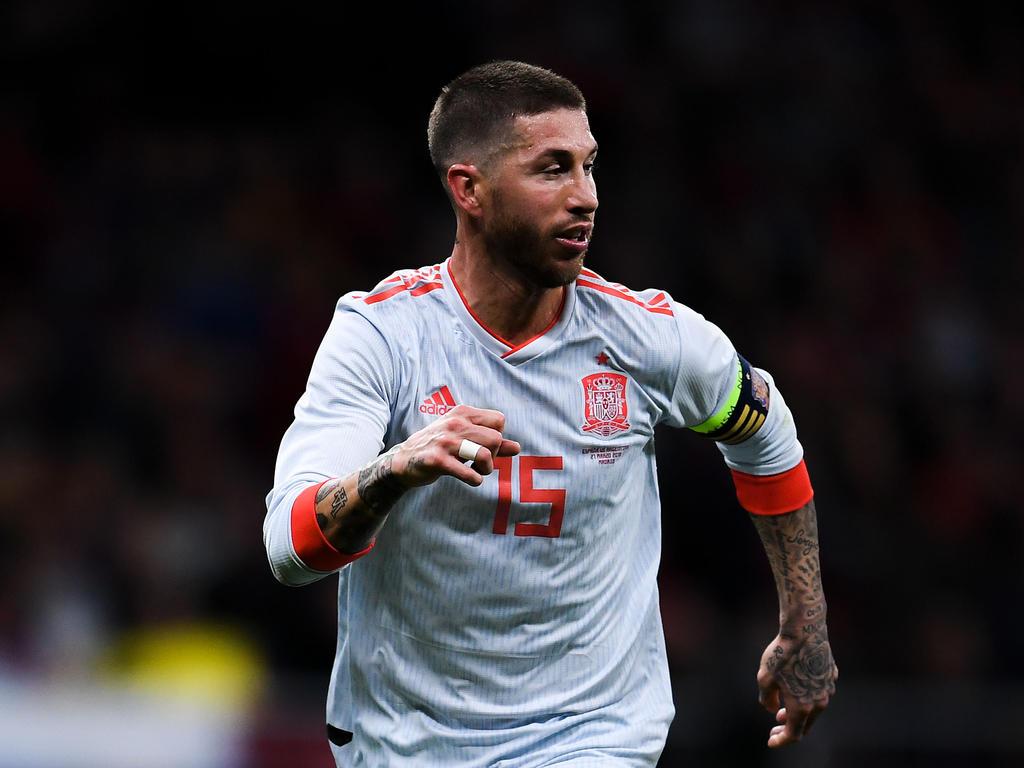 Richtet den Blick nach dem Chaostag nur auf das Sportliche: Spanien-Kapitän Sergio Ramos