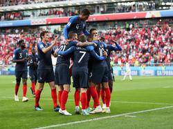 Die Franzosen stehen bereits nach zwei WM-Spielen im Achtelfinale