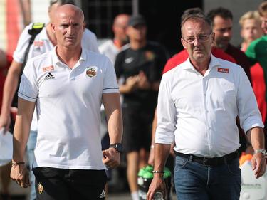 Goran Djuricin und Fredy Bickel Seite an Seite. Aber wie lange noch?