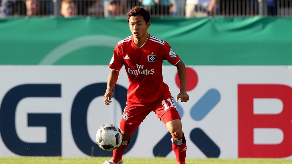 Tatsuya Ito debütierte in der letzten Saison für den HSV in der Bundesliga