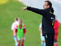 Michael Steiner coachte seine Mädls in die Eliterunde
