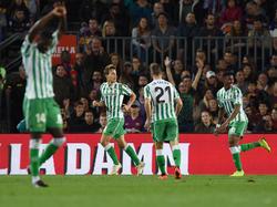 El Betis realizó un auténtico partidazo en el Camp Nou. (Foto: Getty)