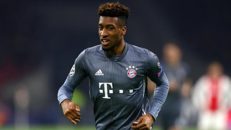 Kingsley Coman steht für die Zukunft beim FC Bayern