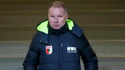 Stefan Reuter trifft am Freitag mit dem FC Augsburg auf den BVB