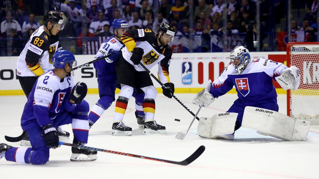 Leon Draisaitl erzielte den 3:2-Siegtreffer gegen die Slowakei
