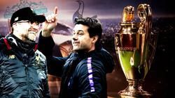 Klopp y Pochettino tienen un mismo objetivo: ganar su primera Champions.