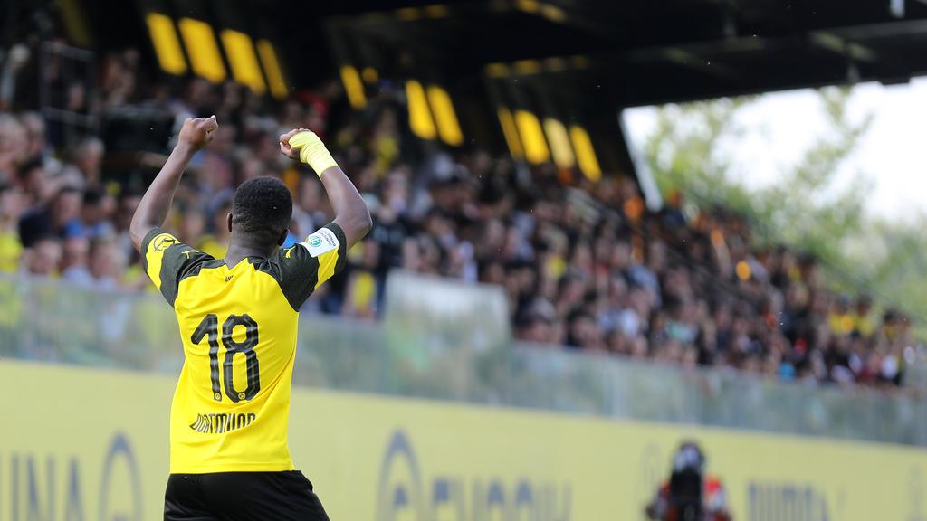 Moukoko traf doppelt für die U19 des BVB