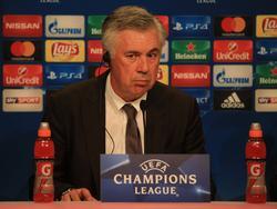 Carlo Ancelotti vor der Partie gegen den PSV Eindhoven