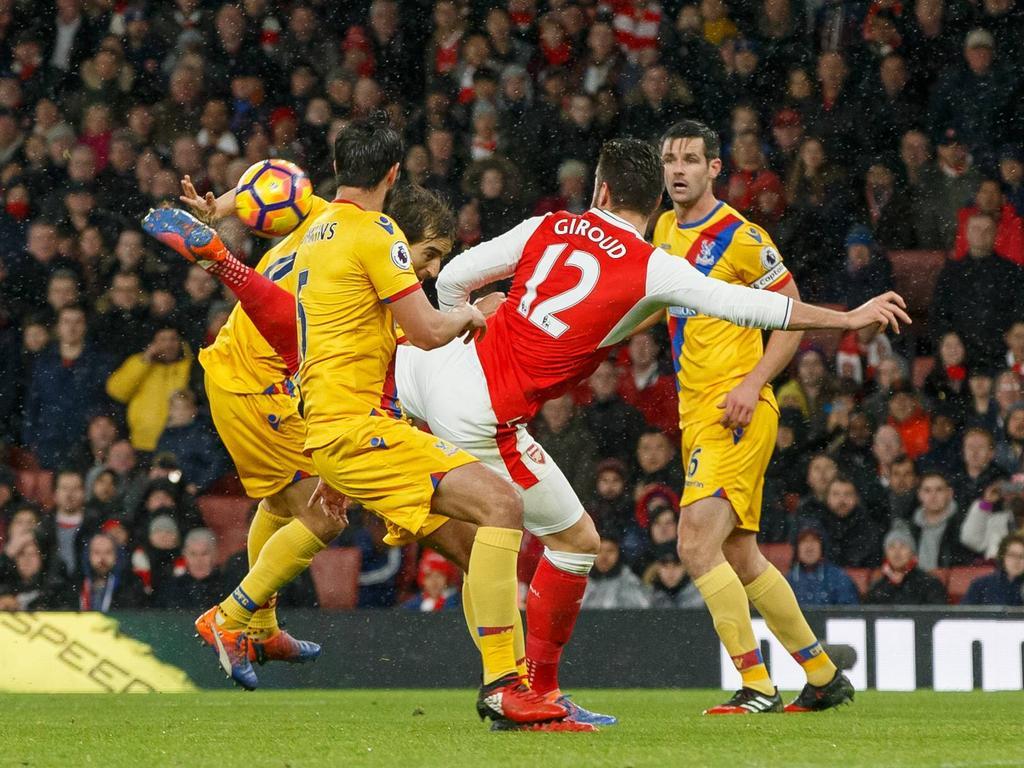 Magischer Moment: Giroud trifft akrobatisch zur Arsenal-Führung