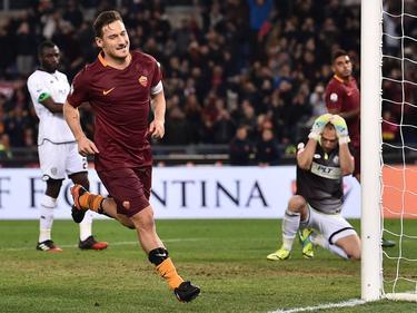 Francesco Totti erzielte das entscheidende Tor für die Roma vom Punkt