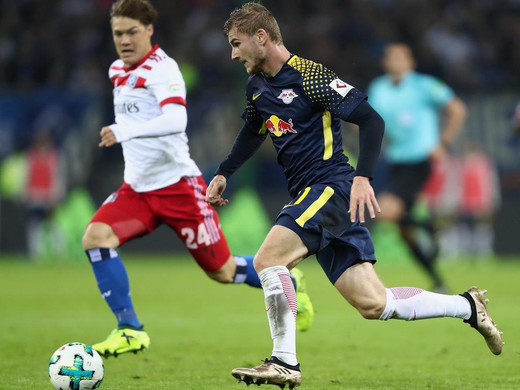 Auf dem Zettel von Real Madrid: Leipzig-Newcomer Timo Werner