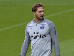 Kevin Trapp muss sich in Paris weiterhin mit der Rolle des Ersatzkeepers zufrieden geben