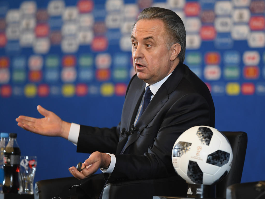 Vitaly Mutko again struck the public with his English 05/29/2015 47