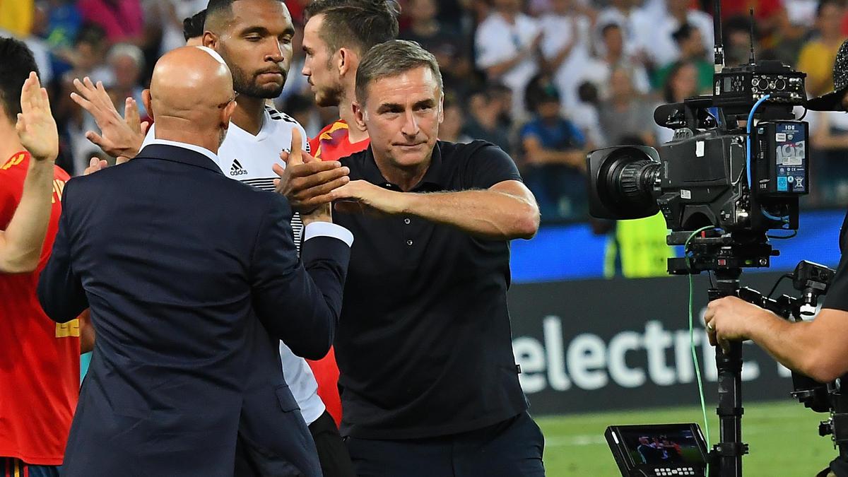 Stefan Kuntz blickt nach der Niederlage gegen Spanien schon wieder nach vorn