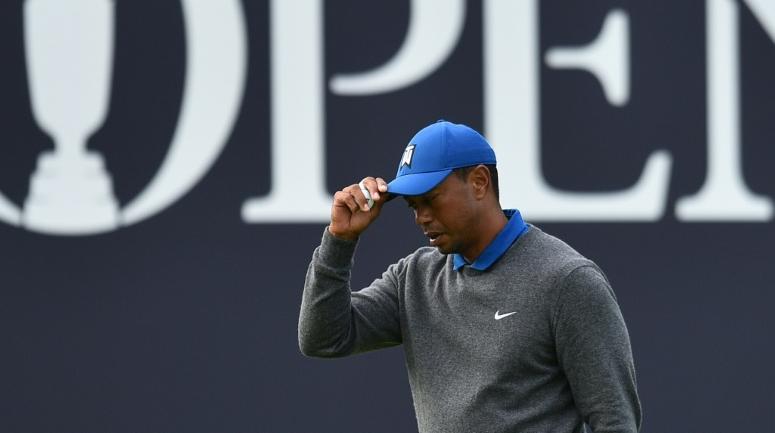 Enttäuschung für Tiger Woods bei den British Open