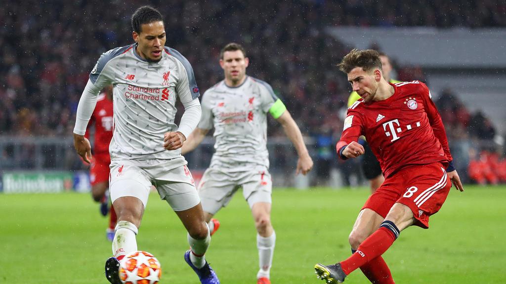 Virgil van Dijk und der FC Liverpool besiegten den FC Bayern im Achtelfinale